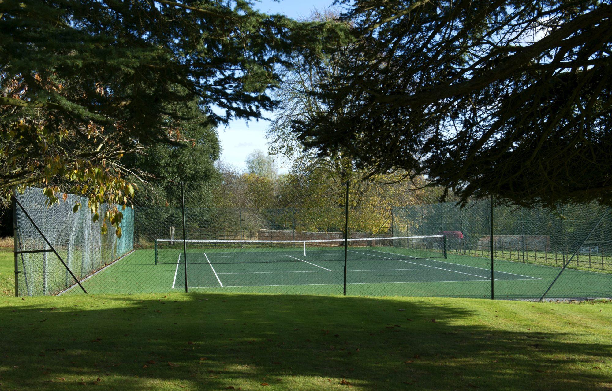 Tennis Court at Ardington House