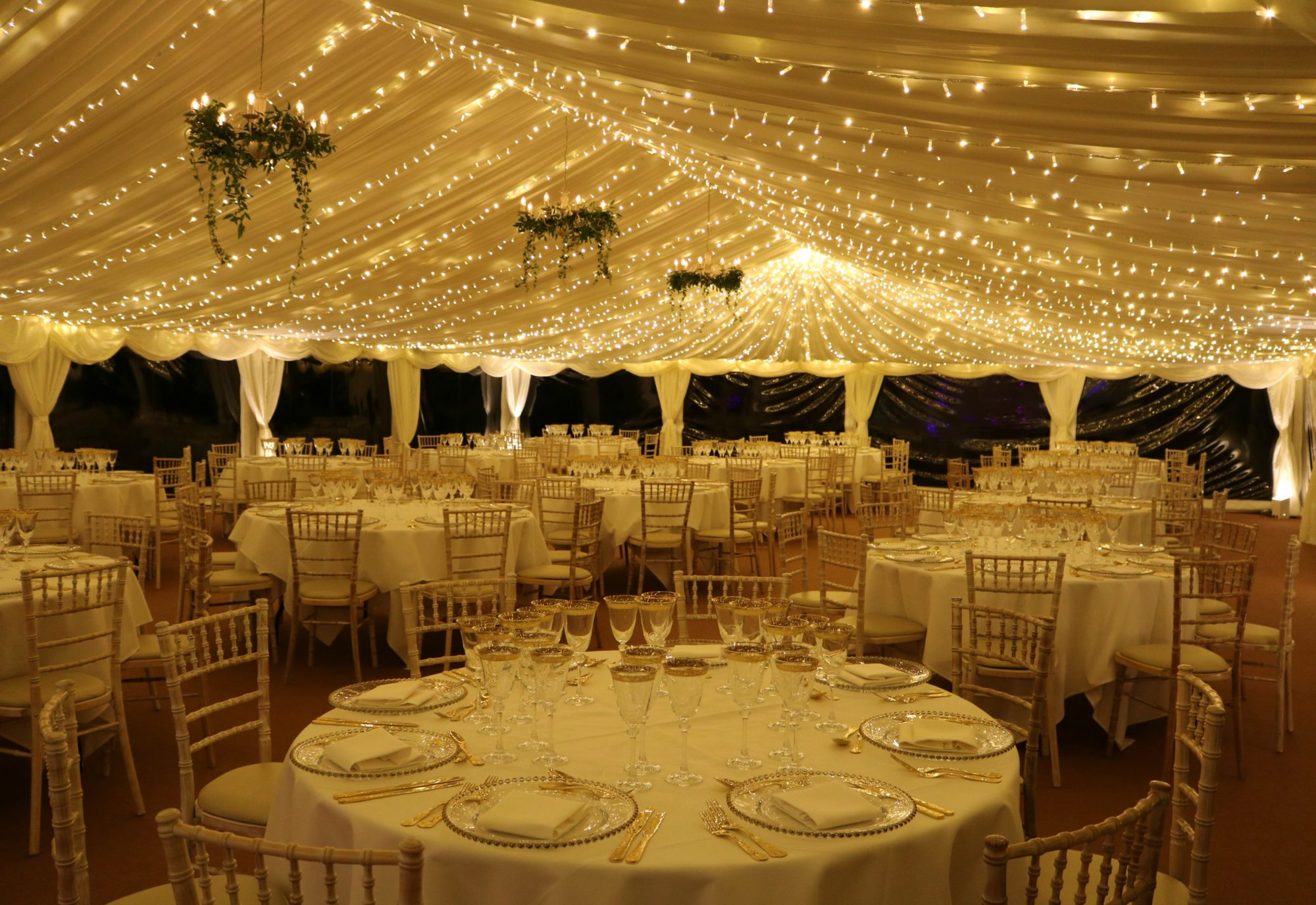 Event Marquee at Ardington