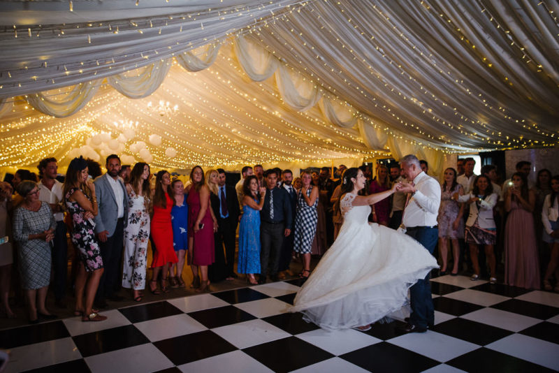 Marquee wedding - Ardington House
