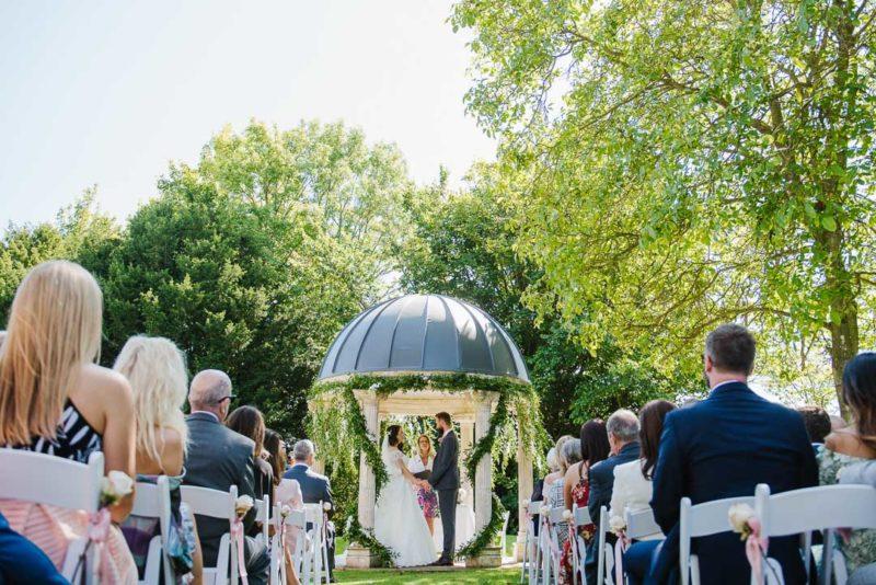 Civil ceremony at Ardington House