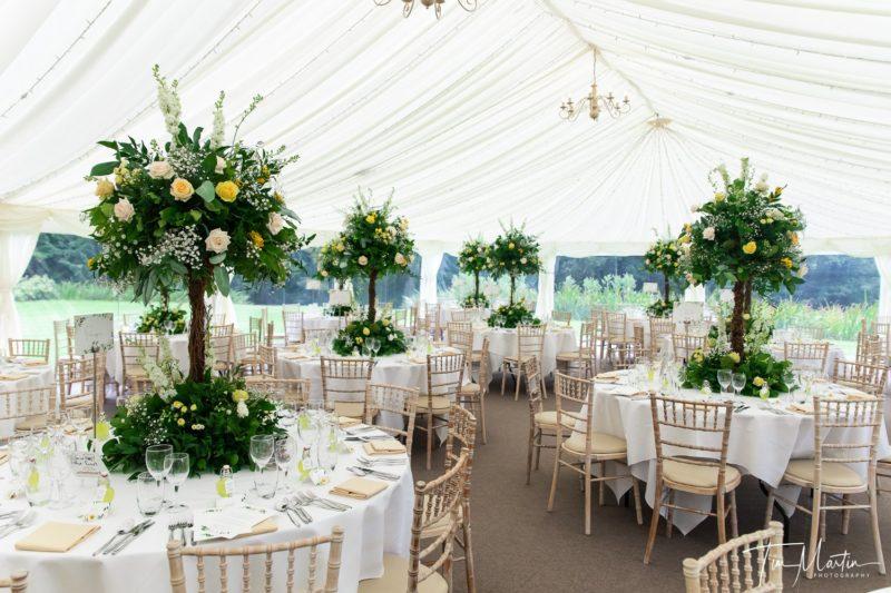 Marquee wedding venue in Oxfordshire