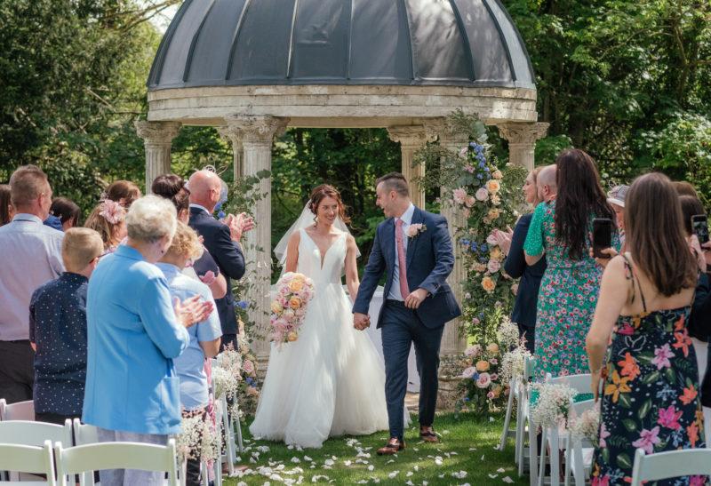 Outside wedding venue - Ardington House