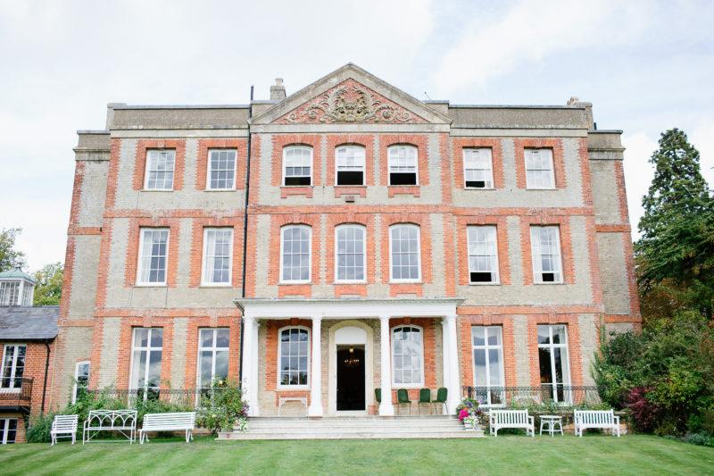 South Lawn of Ardington House wedding venue